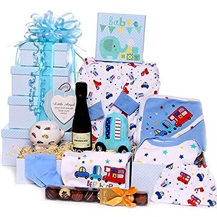 Prosecco y trufas regalo de bebé torre de regalo nuevo regalo de ...