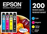 Best Epson Ink Cartridges - Epson T200120-BCS-FF 200 DURABrite Ultra color Multi-Pack Ink Review