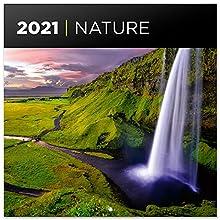 ERIK - Calendario de pared 2021 Nature, 30x30 cm