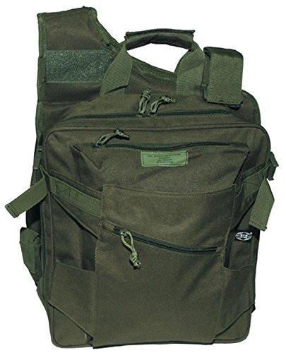 MFH Zaino Borsa uomo donna militare VEST BACKPACK and BAG IN ONE 30990B