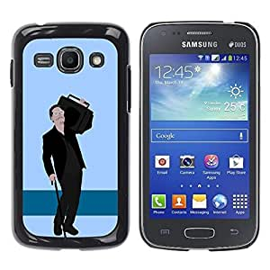 Be Good Phone Accessory // Dura Cáscara cubierta Protectora Caso Carcasa Funda de Protección para Samsung Galaxy Ace 3 GT-S7270 GT-S7275 GT-S7272 // Music Speaker Big Man Parody Gang