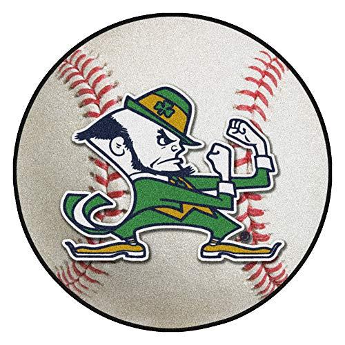 Notre Dame Baseball Rug - FANMATS NCAA Notre Dame Fighting Irish Nylon Face Baseball Rug