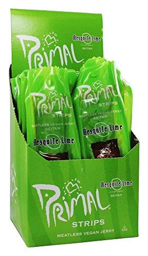 Primal Spirit Foods Primal Strips Meatless Vegan Jerky Mesquite Lime -- 1 oz