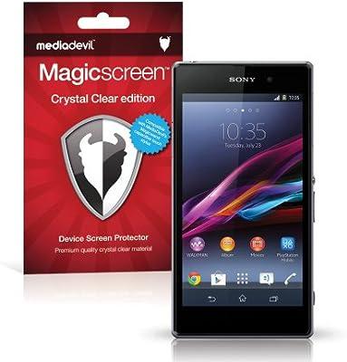 MediaDevil Protector de Pantalla para Sony Xperia Z1: Amazon.es ...