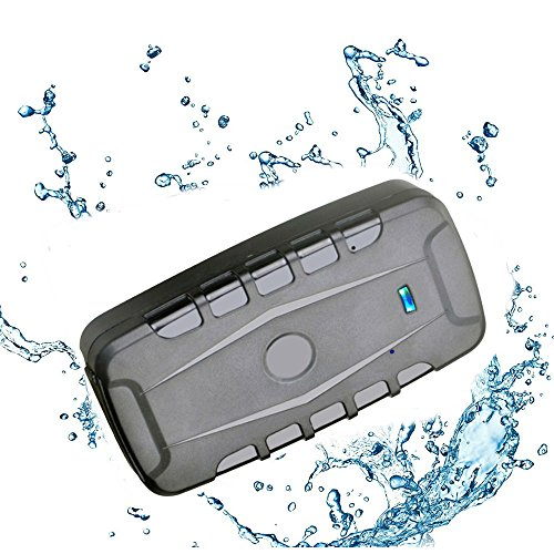 TKSTAR Worldwide Car GPS Tracker ,Magnetic Global Realtime Hidden GPS Location ,Anti Theft & Waterproof Online GSM/GPRS Sim Card Use ,10000mAh,120 Days Long Standby Free APP & No Installation