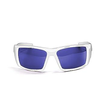 Ocean Sunglasses Aruba - Gafas de Sol polarizadas - Montura : Blanco Brillante - Lentes :