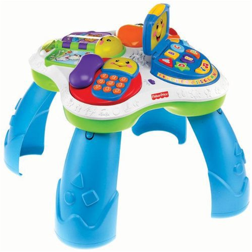 Fisher Price Fun With Friends Musical Table: Amazon.co.uk: Toys U0026 Games