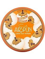Coty AirSpun Loose Face Powder 070-24 Translucent, 2.3 oz (Pack of 2)