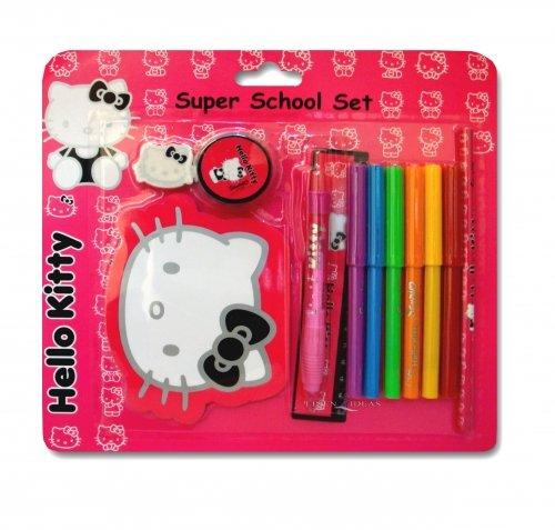 Hello Kitty Silhouette Super School Set