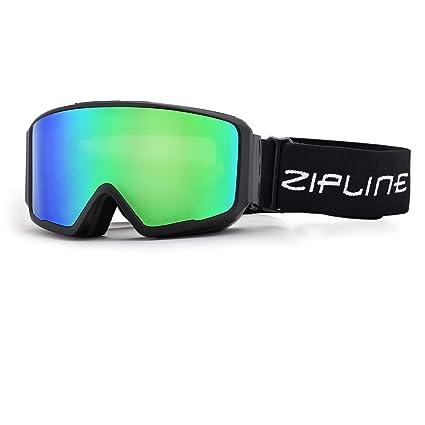 7af58ad2c8d5 Zipline Podium CL Ski Snowboard Snowmobile Goggles - No Fog -  Interchangeable Magnetic Lenses Options - U.S. Ski   Snowboard Team  Official Supplier