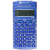 Avalon A-25x Scientific Calculator, Blue (Comparable to Texas Instruments Scientific Calculators)