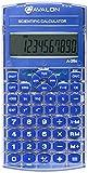 Avalon A-25x Scientific Calculator, Blue (Comparable to Texas Instruments Scientific Calculators)