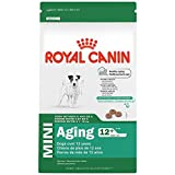 Royal Canin SIZE HEALTH NUTRITION MINI Aging 12+ dry dog food, 2.5-Pound