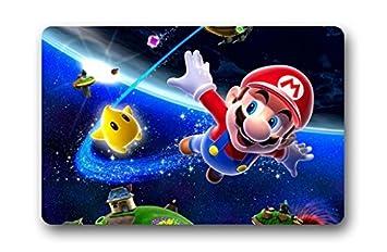 Colorhome Super Mario 3D Spiel Custom Fußmatte Unique Home Deko Teppich  Fußmatte