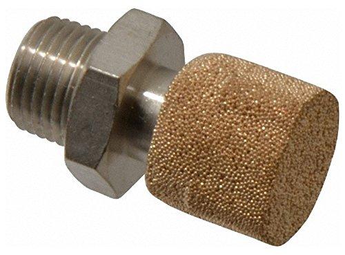 1/8 NPT, 20.5mm OAL, Muffler 175 Max psi, 13.9 CFM, 82 Decibel Rating, Polyethylene by Legris