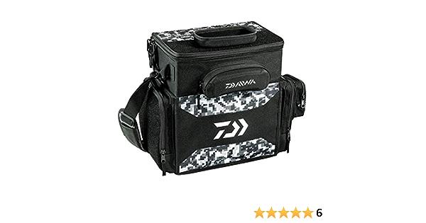 Daiwa D Tec Tactical Tackle Bag Box Digital Black Camo Includes 5 3600 Boxes
