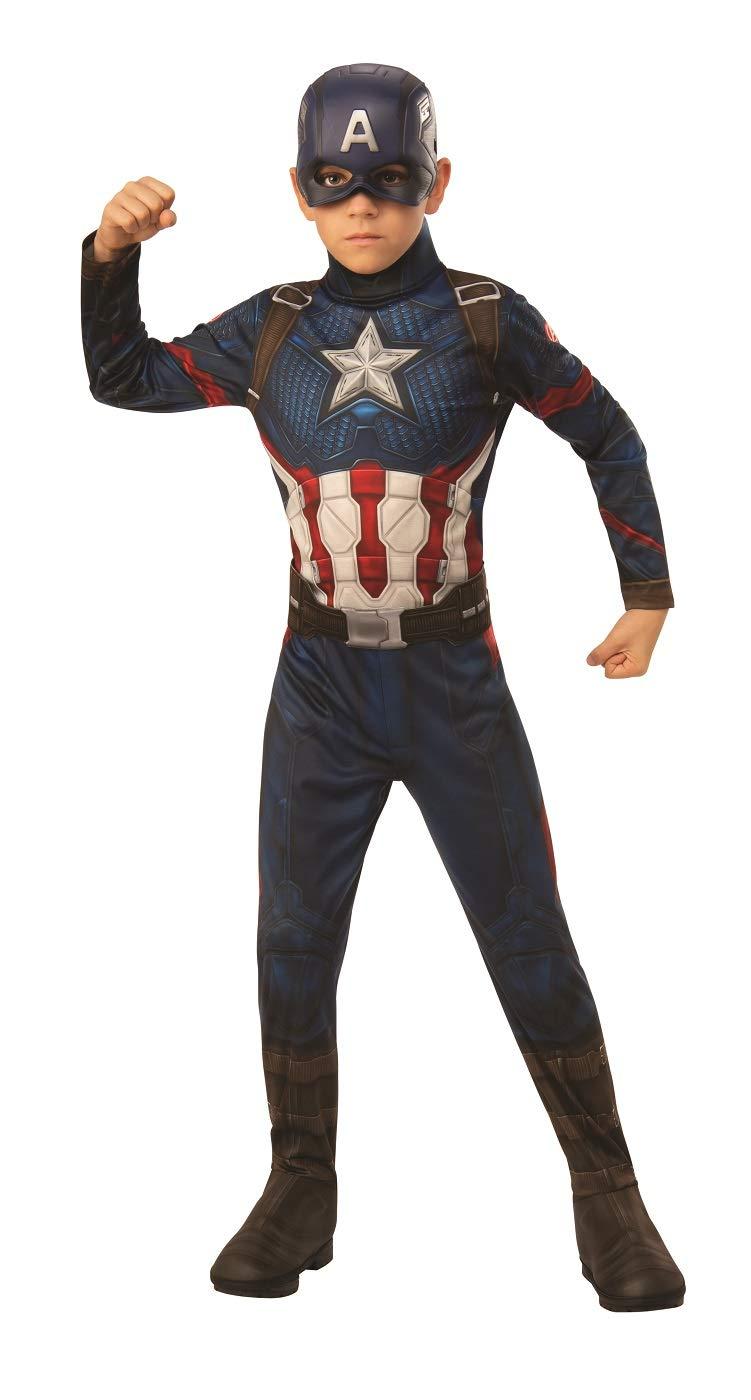 Rubie's Marvel: Avengers Endgame Child's Captain America Costume & Mask, Medium