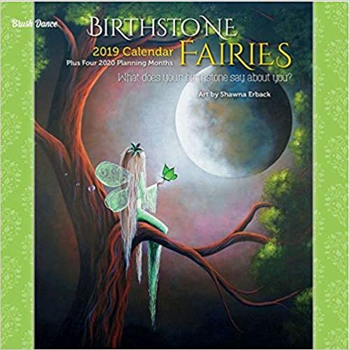 Birthstone Fairies 2019 Calendar