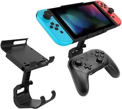 GoolRC Controlador de Juego Soporte de Clip de Montaje Compatible con el Controlador Nintendo Switch Pro Soporte de Gamepad para Accesorio de Consola NS Switch - Amazon.es