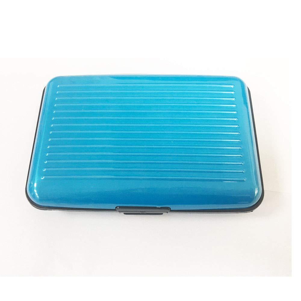 Aluma Aluminium Silver Wallet Credit Card Holder RFID Blocking: Amazon.es: Bricolaje y herramientas