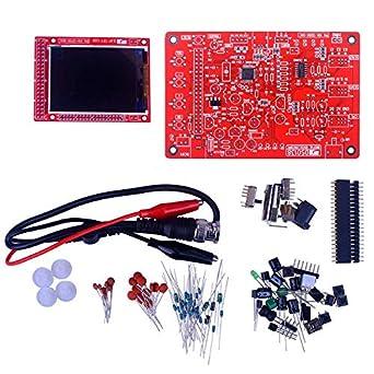 "DSO138 2.4/"" TFT LCD Digital Oscilloscope Test 1Msps 200KHz Bandwidth W//Probe"