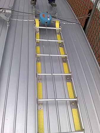 Aluflex - Escalera Plegable, flexible, aluminio, 3 metros empalmables.: Amazon.es: Bricolaje y herramientas