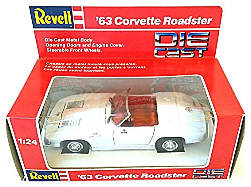 Revell Diecast 1963 Corvette Roadster - 1/24 Scale