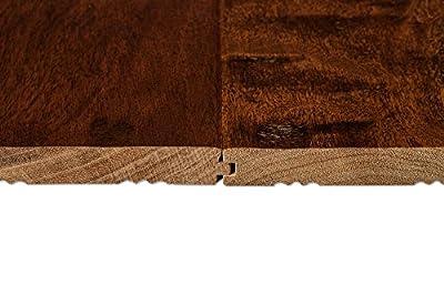 AMERIQUE AMSCNT5 Prefinished Solid Chestnut Natural Hardwood Flooring , Premium Grade