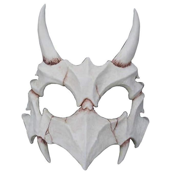 Symeas Fiesta de Halloween Huesos de animales Máscara de ...