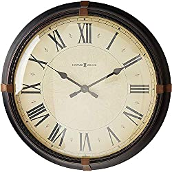 Howard Miller Atwater Wall Clock 625-498 - Modern & Round with Quartz Movement