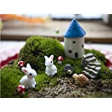 Miniature Dollhouse Garden Decoration Pots Amazon