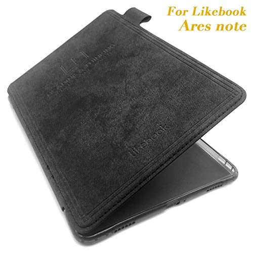 Leather Cover and Screen Protector for 7.8inches Likebook Ares-Note, Auto Wake up/Sleep Function