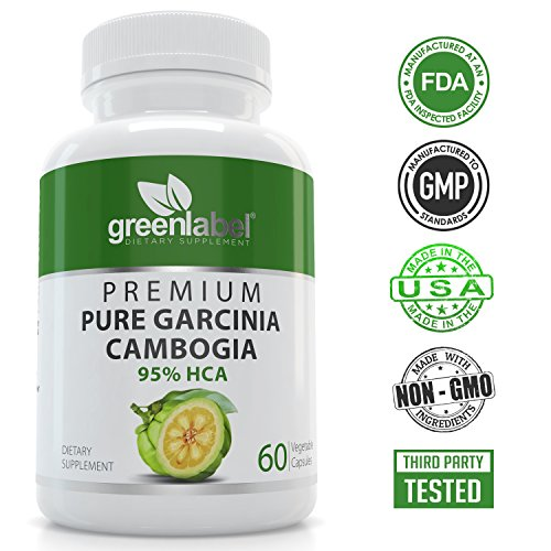 GL Garcinia Cambogia (Double-Strength) With 95% Hydroxycitric Acid. Carb Blocker & Fat Burner, Non-Stimulant& Gluten Free Diet Pills, Appetite Suppressant And Weight Loss Pills For Woman And Men.