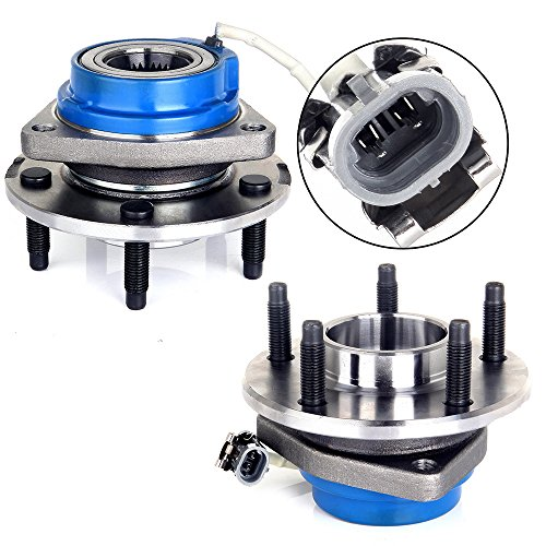 Cadillac Deville Rear Hub - ECCPP Replacement for Premium Wheel Hub Bearing Assembly for 2000 2001 2002 2003 2004 Buick Century Lesabre Park Avenue Regal 5 Lug W/ABS 513121x2