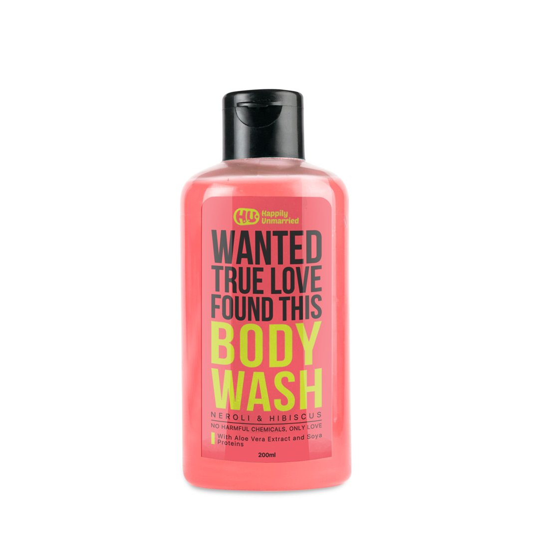 Happily Unmarried Body Wash, 200ml (Neroli and Hibiscus)