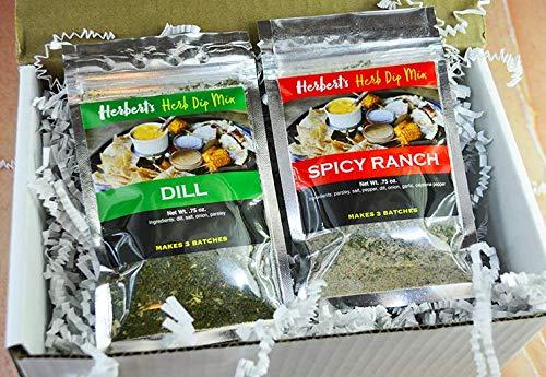 Herb's Herbs - 2 Pack-Herb's Herb Dip-Spicy Ranch & -