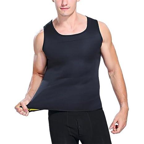 Obling Vêtement de Sudation Homme Perdre du Poids en Néoprène Body Shaper  pour Yoga Fitness Musculation df475d1fbae
