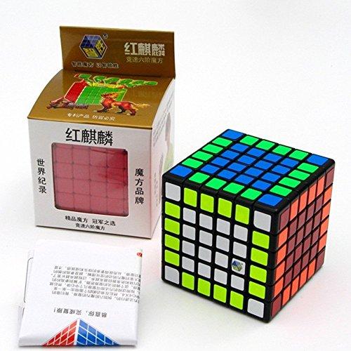 CuberSpeed Yuxin Red unicorn 6x6 cube Black Red Kirin Yuxin