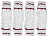 Rubbermaid Professional Plus Microfiber Twist Mop Head Refill 4-Pack (head only, not scrubber tip)