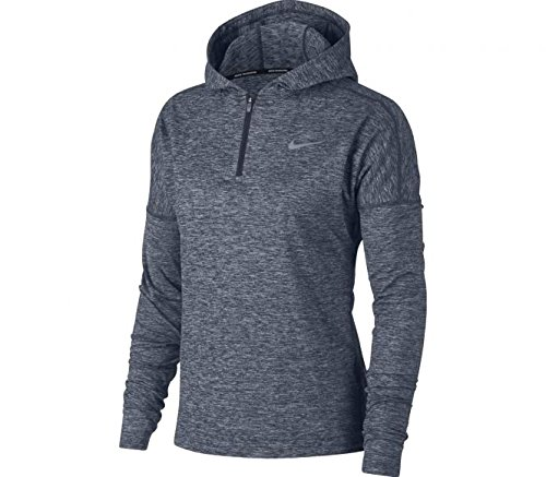 NIKE Womens Dri_Fit Running 1/4 Zip Hoodie 855515 471 (Large)