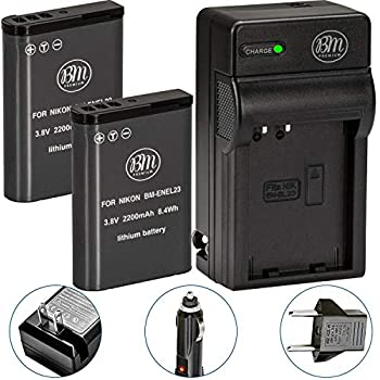 Amazon.com : STK EN-EL23 Battery for Nikon Coolpix P900 ...