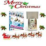 Christmas Gift Pack - One Chance (Simon Cowell,Julie Walters,James Corden) [NON USA FORMATTED VERSION REGION 2 DVD] + Ye Old Cornish Christmas Sweets Gift Bag
