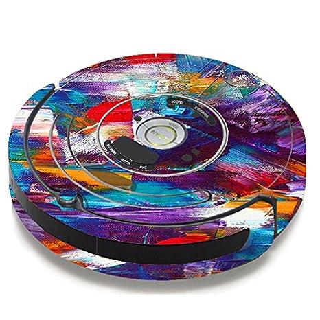 Skin de vinilo para iRobot Roomba 650 655 vacío/Pinceladas pintura: Amazon.es: Hogar
