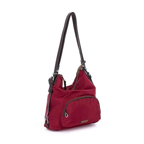 Abbacino Trendy Jing, Cartera para Mujer, (Rojo), 15x29x34 cm (W x H x L): Amazon.es: Zapatos y complementos