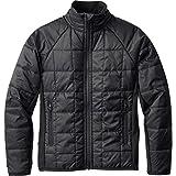 Smartwool Boy's SmartLoft Double Corbet 120 Jacket (Little Kids/Big Kids) Black Outerwear LG (Big Kids)
