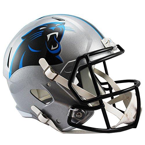 Riddell Helmet Replica Carolina Panthers - Riddell Carolina Panthers Officially Licensed Speed Full Size Replica Football Helmet