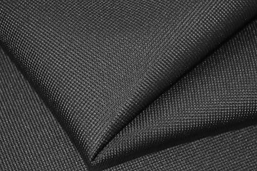 Takoy Tessuto a metraggio 100x160cm nylon impermeabile nero Stoffe Patchwork DIY