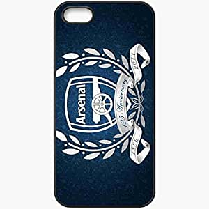 Personalized iPhone 5 5S Cell phone Case/Cover Skin Arsenal blue Black