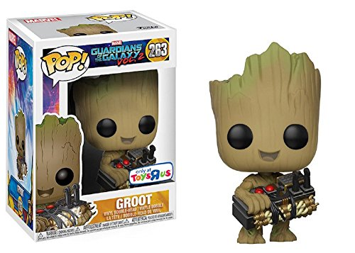 Nice Funko Pop! Marvel Guardians of the Galaxy Vol. 2 Groot #263 (Holding Bomb) Toys R Us Exclusive hot sale