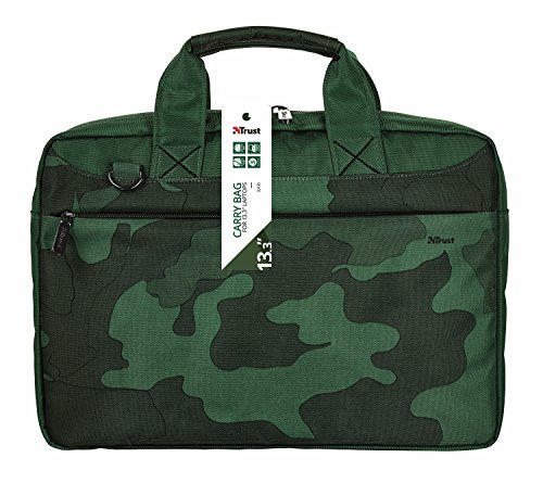 Carry Bari for Inch 13 Trust Notebook Hearts 3 Bag camouflage Pink Laptop qEwCOFfA